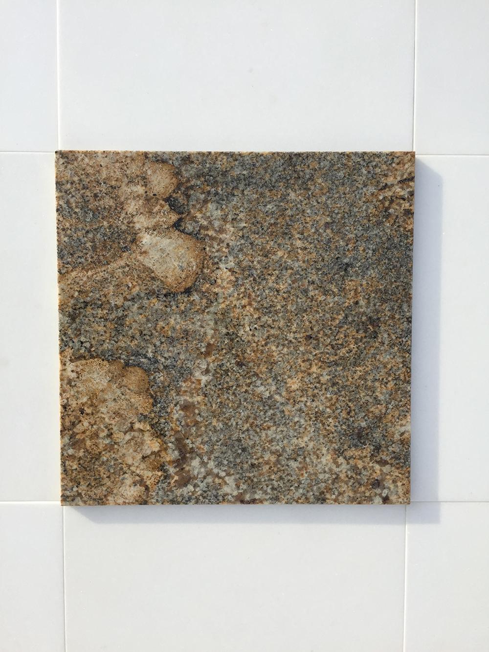 Giallo Namibia Fényes Gránit  30,5×30,5×1 cm  Azonnal Elérhető