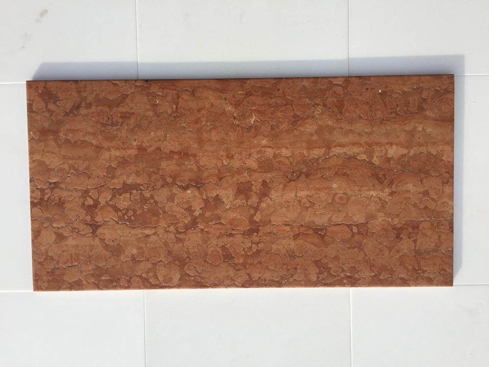 Rosso Verona Antikolt Márvány 61×30,5×1 cm  30,5x25x1 cm  Azonnal Elérhető